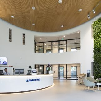 Office fit-out - Samsung - Netherlands