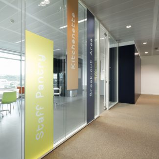 Architecture and office interior construction works - SAP - Portugal