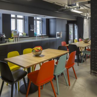 Office fit-out for leading start up - Spotify - United Kingdom
