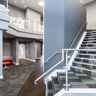 Innovative Office fit-out - STANLEY B&D - United Kingdom