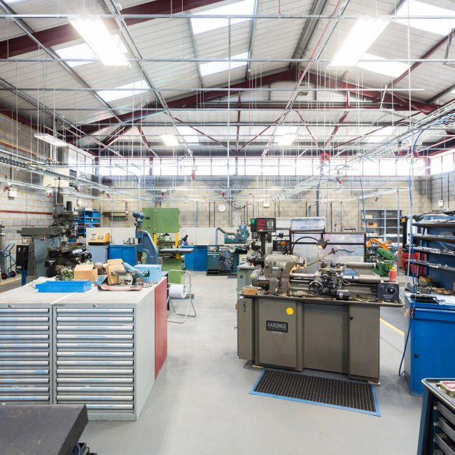 Fit-out of new HQ - STANLEY ENGINEERED FASTENINGS - United Kingdom