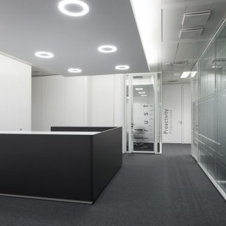 Relocation, architecture and office interior works - STANLEY SECURITY - Portugal