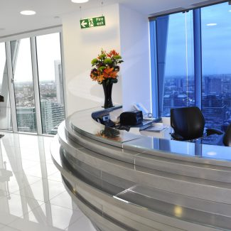 Office fit-out of new HQ - Stemcor - United Kingdom
