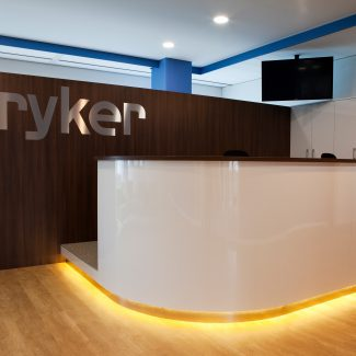 Office fit-out - stryker - Netherlands