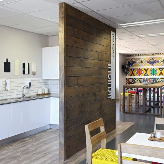 Vibrant African office design - Stryker - South Africa