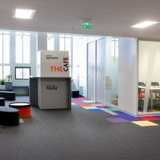 Design and delivery of offices in a listed building - TECHNIP - France