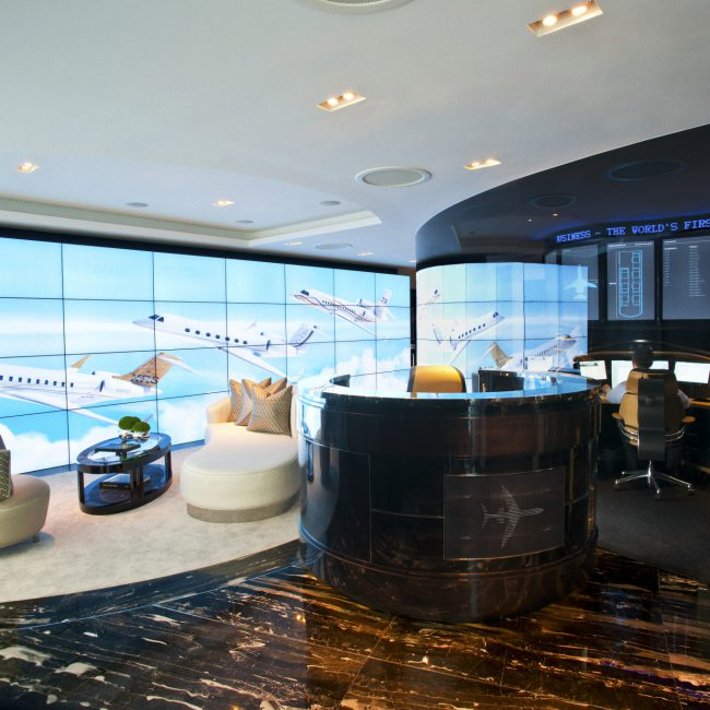 Lavish fit-out - The Jet Business - United Kingdom