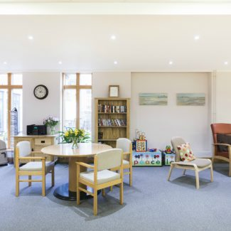 Design and fit-out for charitable organisation - The Peace Hospice - United Kingdom
