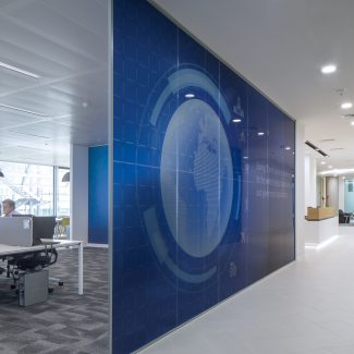 Fit-out for European HQ - Unisys - United Kingdom