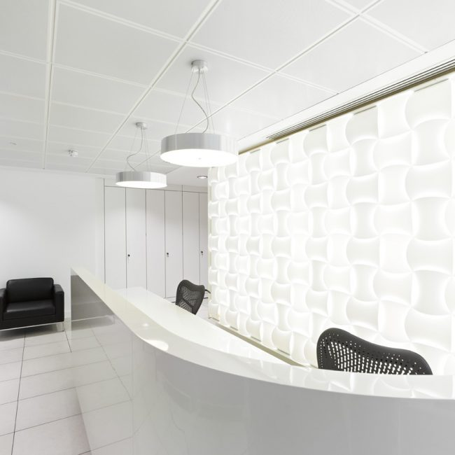 Fit-out of new HQ - VANGUARD - United Kingdom