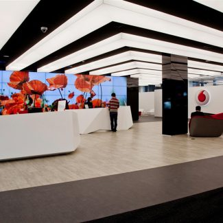 Design & build for communication giant - VODAFONE - Spain