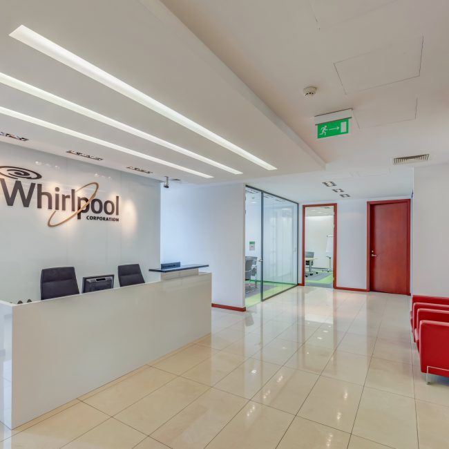 Workspace designed and built - Whirlpool - Poland