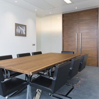 Cat B design and build fit-out of new office - Whitefoord - United Kingdom