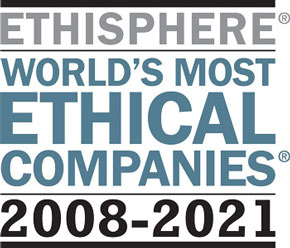 Worlds most ethical compagnies 2008-2021