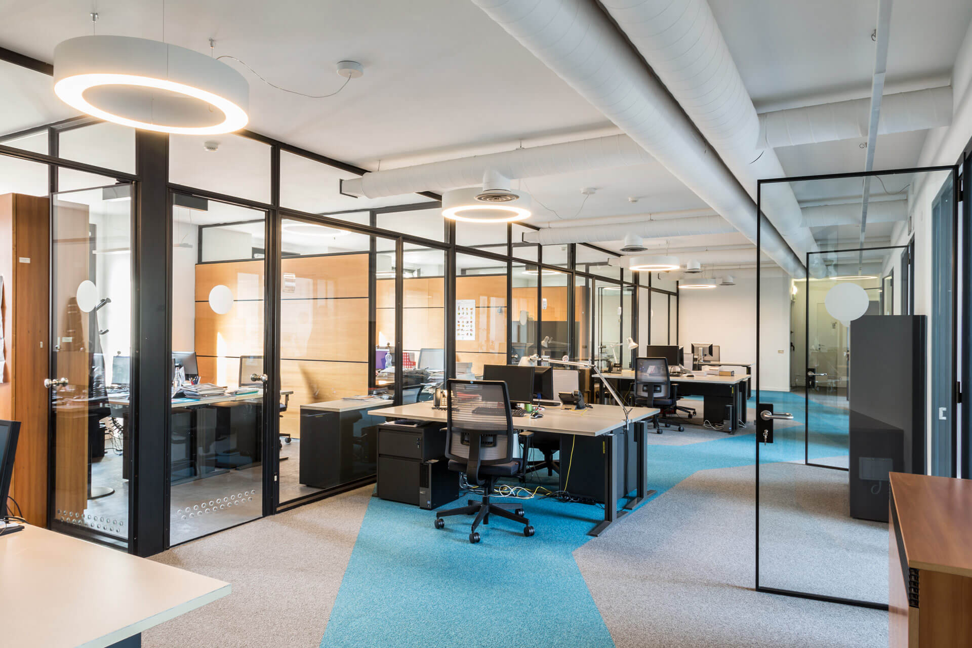 A brighter fresher and more dynamic office design tetris db for Office design italia srl