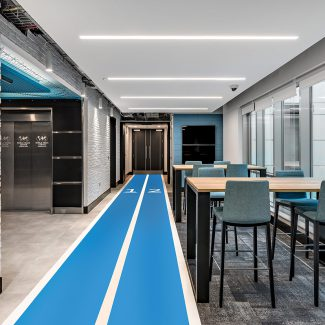 Betvictor offices fitout project gibraltar by tétris