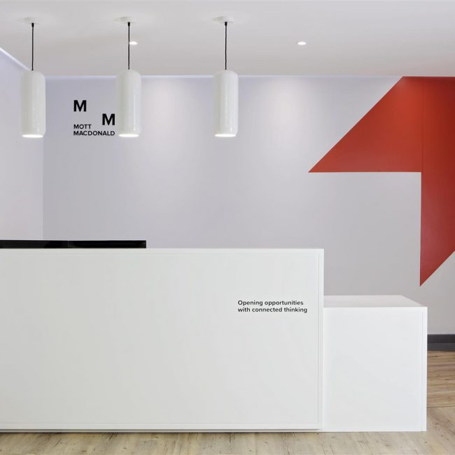 Office fit-out - Mott MacDonald