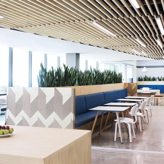 Ceilings | Office design trends