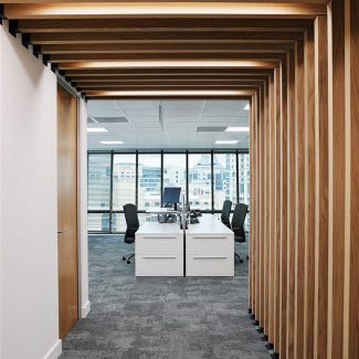 Global investment firm office fit-out