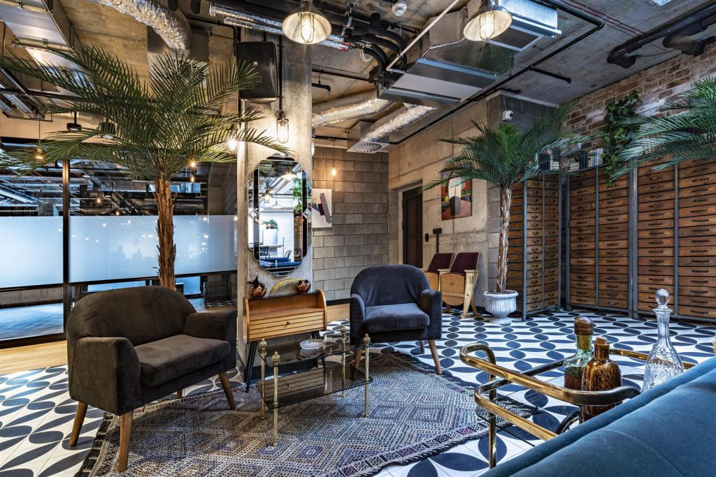 Integrating old with new adds character to the Mindspace coworking space