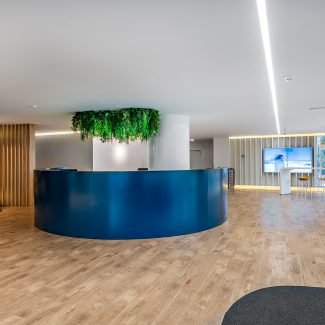 Indra - Office fit-out - Madrid - Spain - Tétris-db