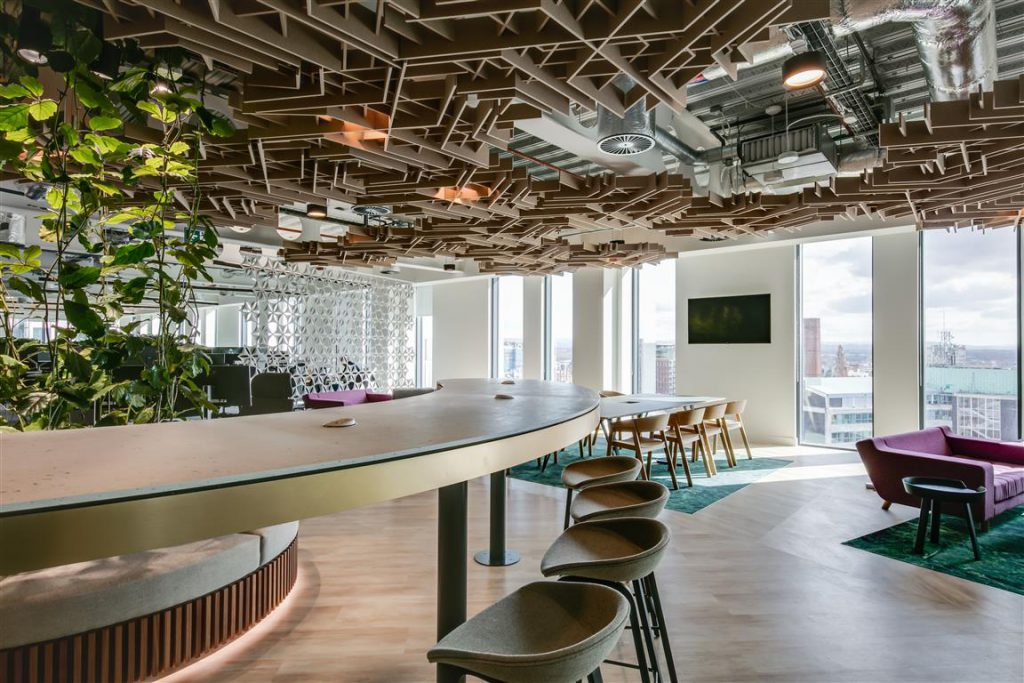JLL offices in Manchester, UK