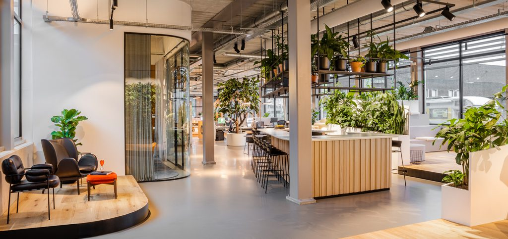Interiorworks office in Amsterdam, The Netherlands